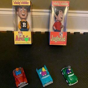 Vintage Archie comics funko wacky wobbler set
